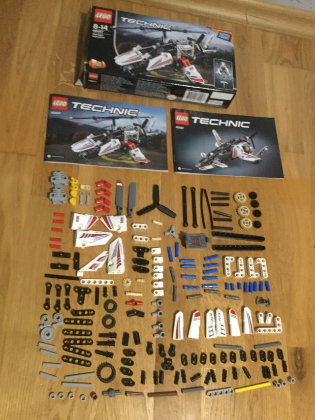 Lego Technic Ultralight Helicopter My Favorite Christmas Present